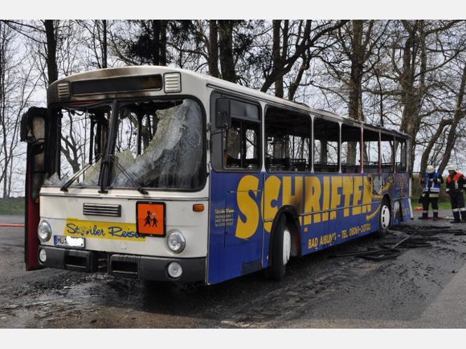 ermittlungen nach busbrand