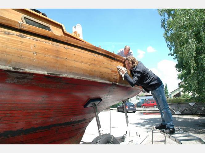 restaurierung alte holzboote landkreis alt tting