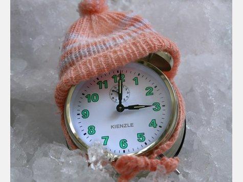 Symbolbild für den Beginn der Winterzeit in Deutschland
