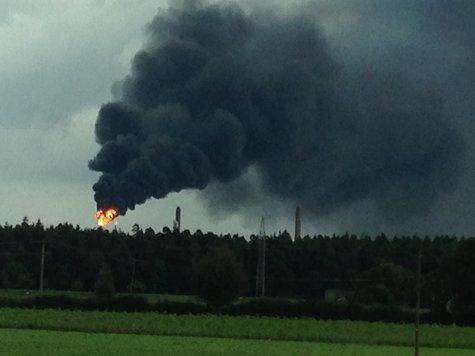Burghausen: OMV-Raffinerie für den Ernstfall gewappnet | Burghausen