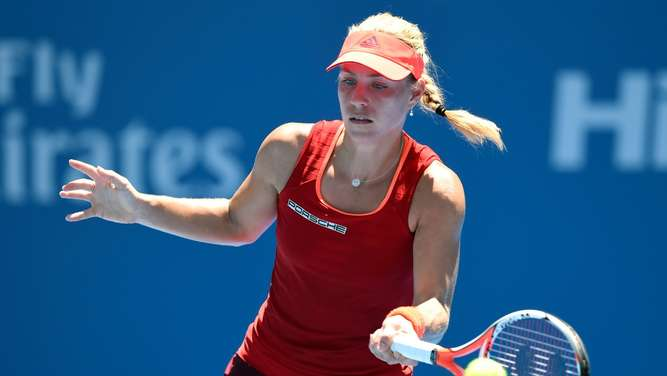 Australian Open, 1. Runde, Draw, Angelique Kerber