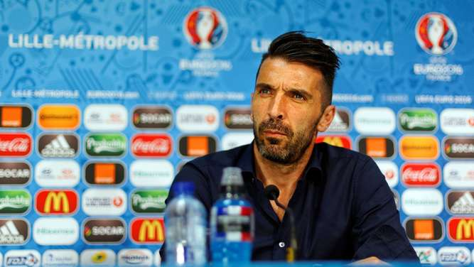EURO 2016 - Italy press conference