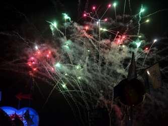 Feuerwerk begeistert viele Besucher