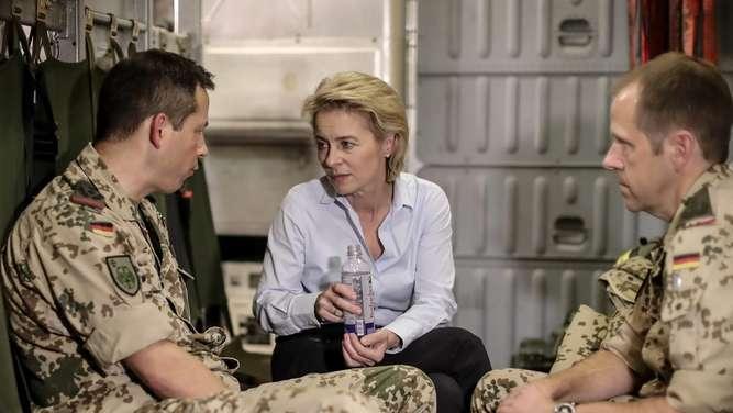 Bundeswehr rückt näher an die Frontlinie im Irak