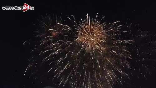 Das große Feuerwerk zum Haager Herbstfest 2016