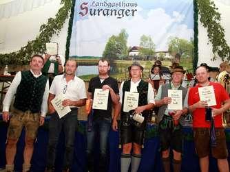Ciemgau-Meisterschaft im Boahakln beim Suranger