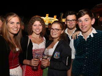 Bilder vom Haager Herbstfest am Montagabend