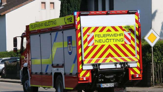 Unfall in Neuötting am 20. Juli 2020