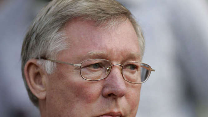 Manchester United-Trainer Sir Alex Ferguson.