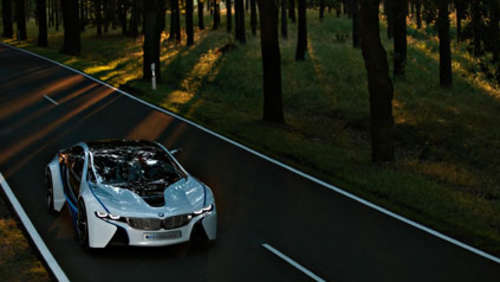 BMW Vision Efficient Dynamics - Hybrid Sportwagen