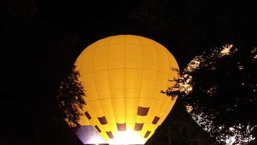 Ballonfliegen in der Region