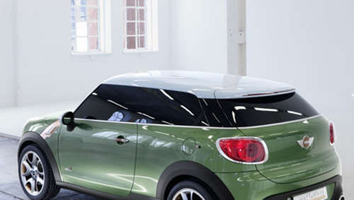 Detroit 2011: Weltpremiere Mini Paceman