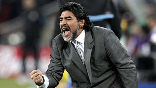 Maradona will Trainer in Spanien werden