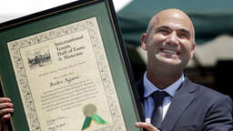 Agassi ist in der Hall of Fame