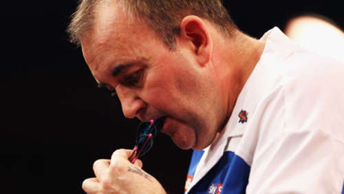 "Sensation bei Dart-WM: Phil ""The Power"" Taylor ausgeschieden"