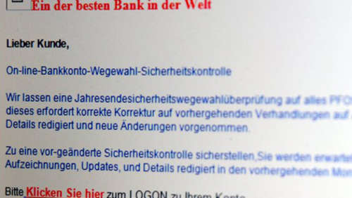 Internet-Branche bildet Allianz gegen Phishing