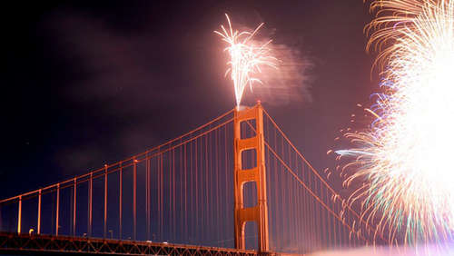 Happy Birthday! Golden Gate Bridge wird 75