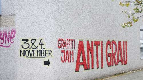 Anti Grau am Salzachzentrum