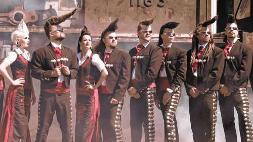 Open-Air-Festival mit Leningrad Cowboys