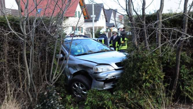 Unfall in Garching