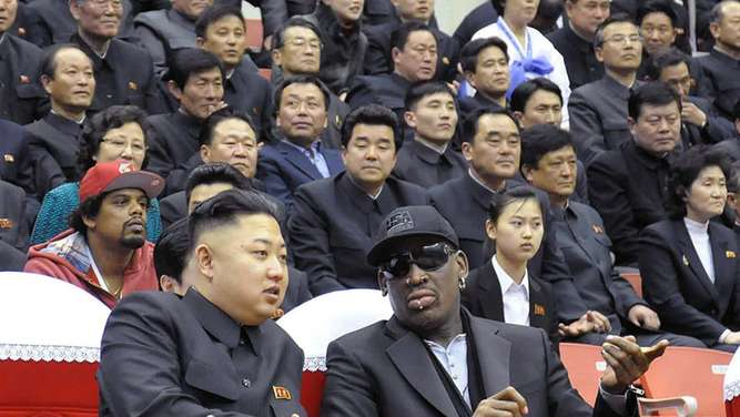 "Rodman singt ""Happy Birthday"" für Kim Jong Un"