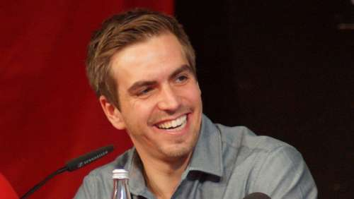 Philipp Lahm in Albaching