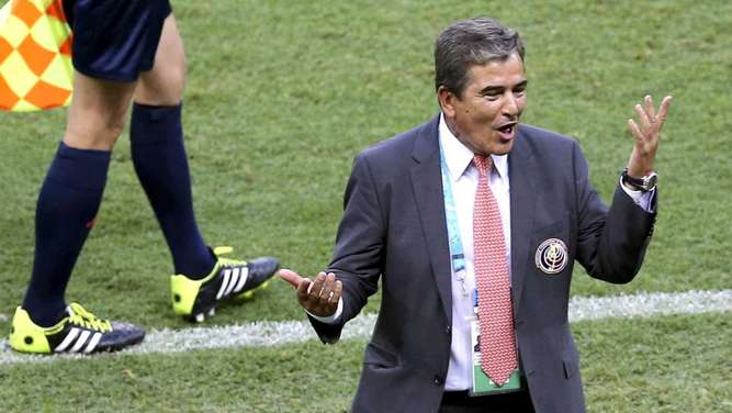 Costa-Rica-Coach martialisch: