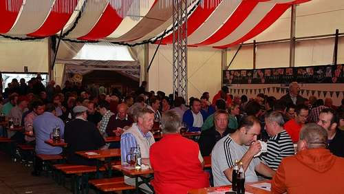 Watt-Turnier in der Wiesn-Alm