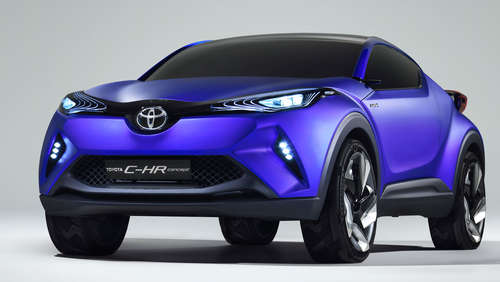 Muskelprotz: Toyota C-HR Concept