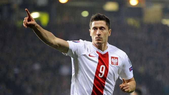Treffsicher: Robert Lewandowski.