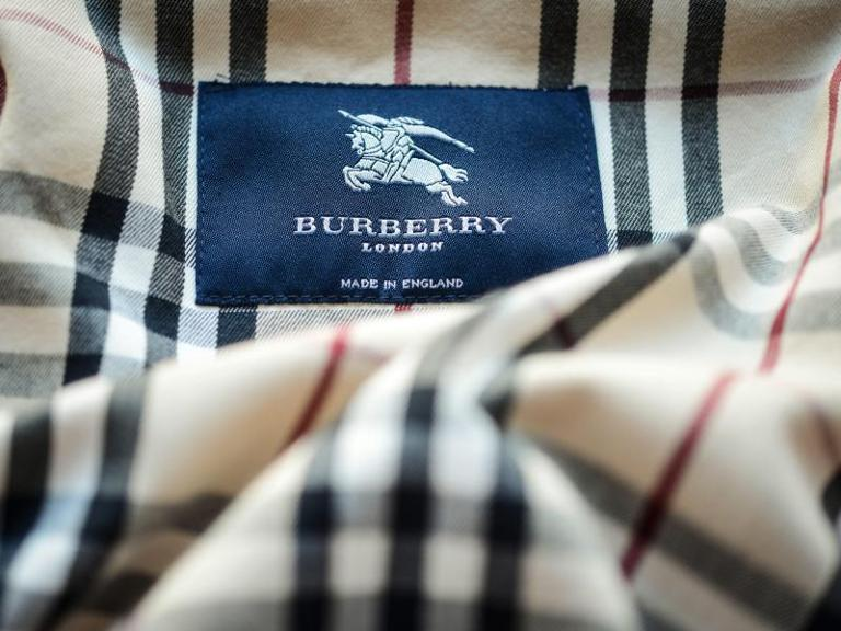 "Mode made in England: Das Modelabel ""Burberry London""."