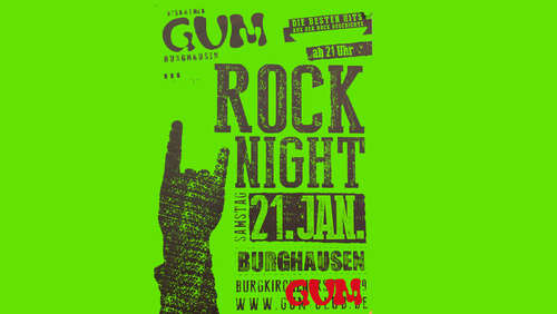 Rock-Night im GUM Burghausen