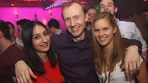 """Black Club Night"": Tolle Stimmung im Sinners"
