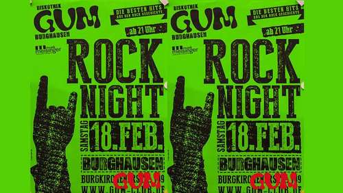 Rock-Night im GUM mit DJ Tom Tom