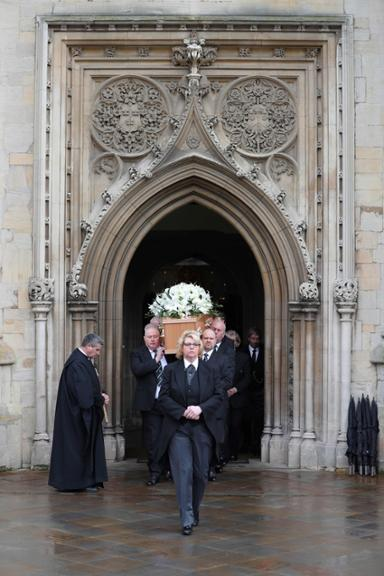 Stephen Hawking, Trauerfeier, Cambridge