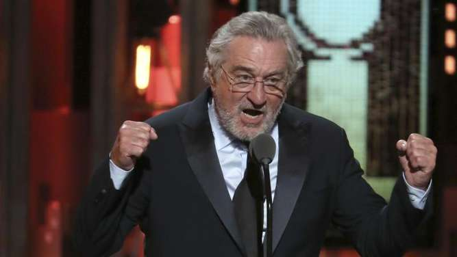 Robert De Niro bei den 72. Tony Awards in der Radio City Music Hall in New York. Foto: Michael Zorn
