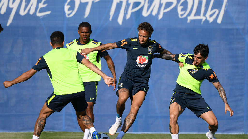 WM 2018 - Training Brasilien