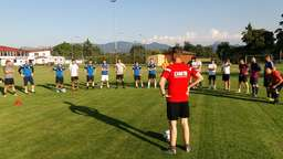 Trainingsauftakt beim ASV Happing