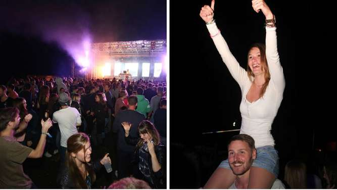 Das Summer Day & Night Festiival in Albaching lockt tausende Partyfans an.