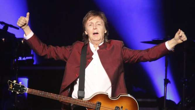 Ex-Beatle Paul McCartney 2016 bei einem Konzert in Düsseldorf. Foto: David Young