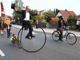 Festzug beim Haager Herbstfest (3)