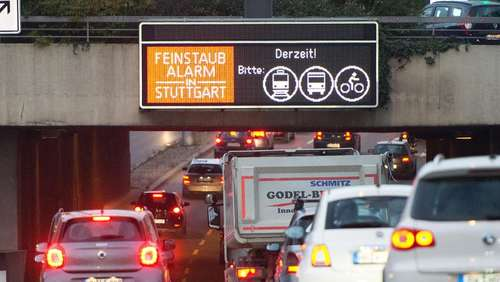 Baden-Württemberg muss Euro-5-Fahrverbote planen