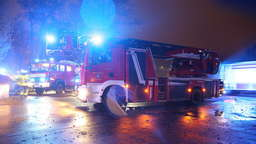 Containerbrand an Realschule in Trostberg