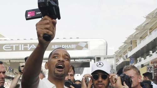 Will Smith und Lewis Hamilton landen Internet-Hit