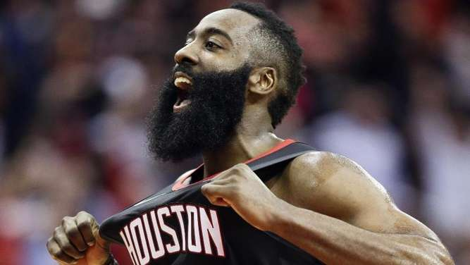 Stellte einen neunen NBA-Rekord auf: James Harden von den Houston Rockets. Foto: Eric Christian Smith/AP/