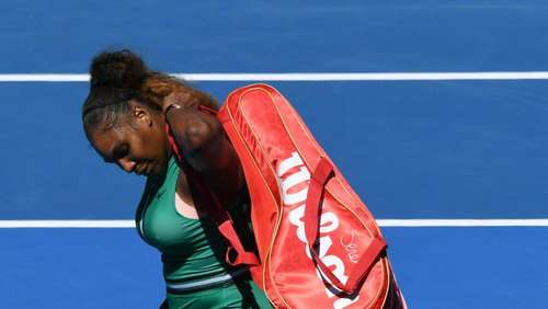Licht aus: Kein Rekord für Serena Williams in Melbourne
