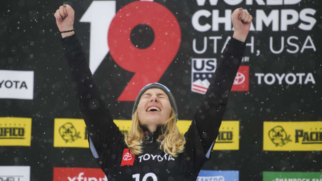 Snowboard-WM in Park City - Parallel-Riesenslalom