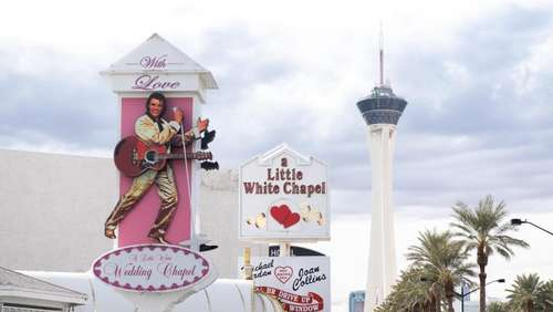Heiraten mit Elvis in Las Vegas