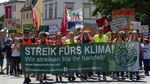 "Erste Demonstration: ""Fridays for Future"" in Altötting angekommen"