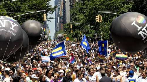 """Pride March"" in New York groß gefeiert"